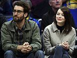 They're married!Emma Stone 'has wed' her fiance Dave McCary