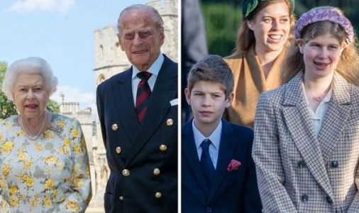 Queen's grandchildren: How THIS move proves Lady Louise and James are royal favourites