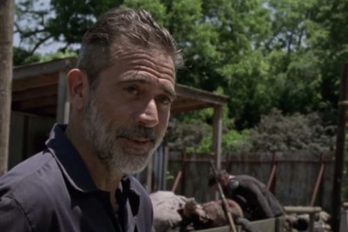 The Walking Dead star releases first-look image from Here's Negan special