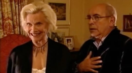 Norris' Pussy Galore: Honor Blackman's epic Coronation Street cameo as she dies