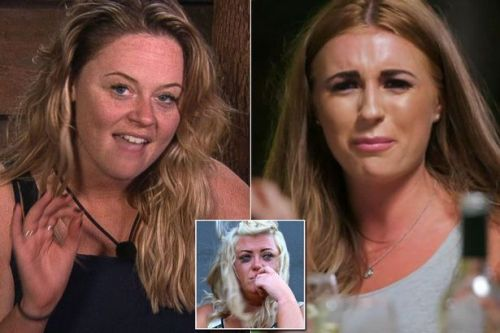 Gemma Collins and Dani Dyer react to Emily Atack's impressions on I'm a Celebrity
