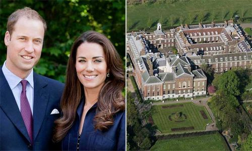 Kate Middleton and Prince William request assistance at private home