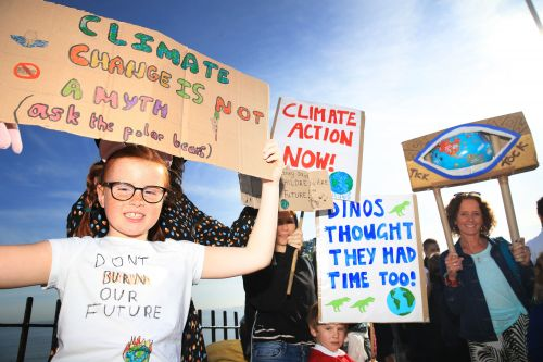 Millions take to the streets for global climate strike