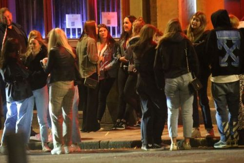 Revellers enjoy final night out in Leeds and Blackpool before new lockdown