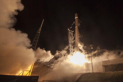 Timeline for Falcon 9 launch of Starlink satellites