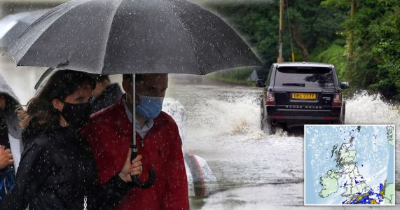 'June monsoon' to hit UK before temperatures soar to 26°C next month