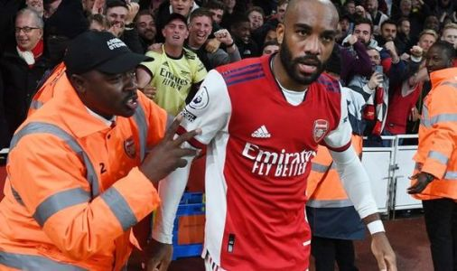 Alexandre Lacazette admits he is not happy with Arsenal role after Crystal Palace goal