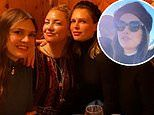 Roman Abramovich's ex-wife Dasha Zhukova skis in St Moritz with pal Kate Hudson ahead of $8m wedding