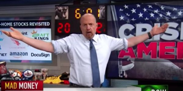 'The stock market doesn't care about social justice': Jim Cramer says investors are backing potential winners from protests