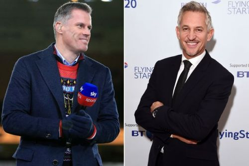 Jamie Carragher and Gary Lineker go toe-to-toe over coverage of Liverpool vs Man Utd