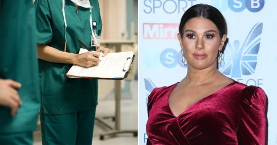 Rebekah Vardy donates £10,000 to buy scrubs for medics battling coronavirus in Leicester