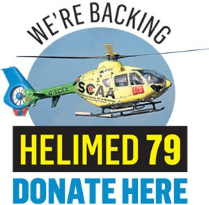 Aberdeen charity air ambulance takes to the skies for first time