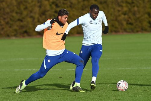 : Young starlet trains with first team again ahead of potential FA Cup appearance