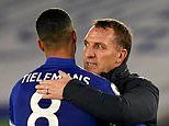 Brendan Rodgers plays down Leicester's Premier League title chances after beating Chelsea