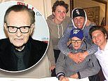 Larry King's sons reveal they are 'heartbroken' over the death of their 'amazing father'