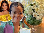 Beyonce sends a big bouquet of flowers to a young fan who is battling brain cancer