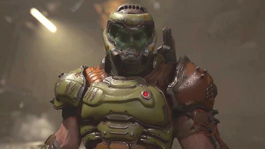 You can play Doom Eternal in third person