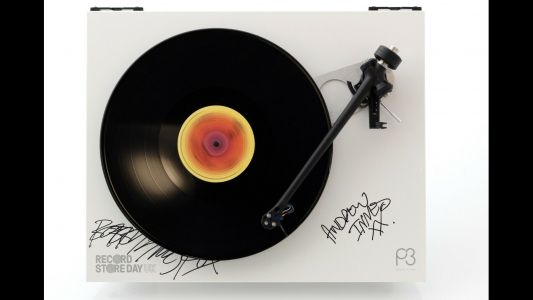 Artist-signed Rega Planar 3s up for grabs in Record Store Day charity auction