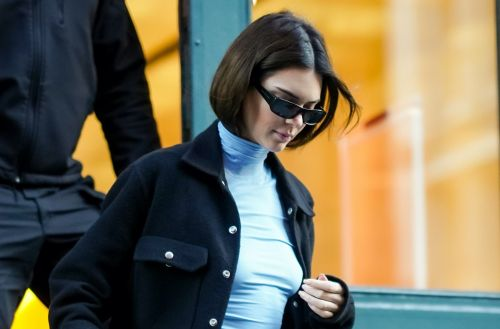 Kendall Jenner wore 2019's biggest trends in one outfit, and her tiny purse is the best part