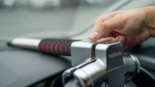 Halfords Adds Fingerprint Tech to its Luxury Car Steering Wheel Lock