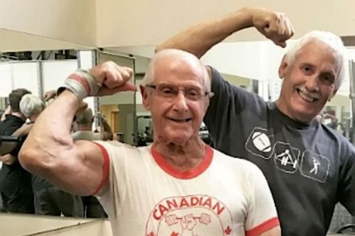 'Bionic' pensioner, 89, is using lockdown to train for powerlifting competition