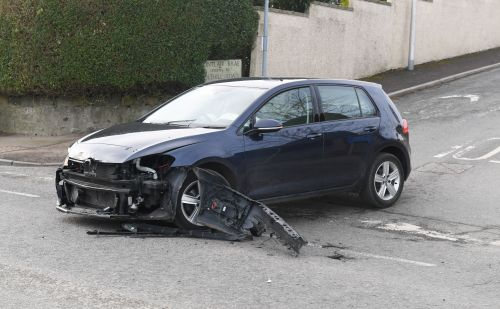 Motorists expecting delays following two-car crash on north-east road