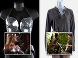 Breastplate worn by Helen Mirren's in Excalibur expected to fetch $22,000 at auction