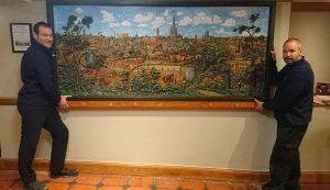New home for The Norwich Panorama by John Moray-Smith