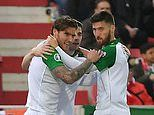 Gibraltar 0-1 Republic of Ireland: Hendrick gets the only goal of the game in Euro 2020 qualifying