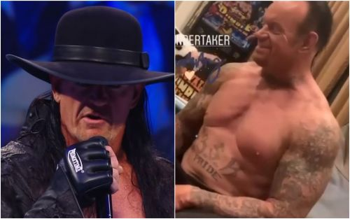 The Undertaker looks in superb shape ahead of WWE return at WrestleMania 36