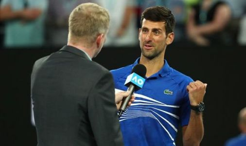 Djokovic through to semi-finals after Nishikori retires