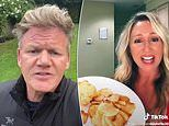 Gordon Ramsay BLASTS American woman for MICROWAVED fish and chips