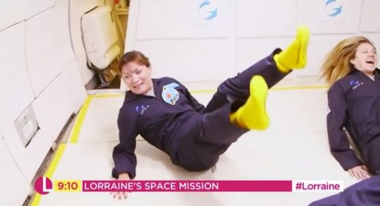 Lorraine Kelly's Zero-Gravity Experience Was As Ridiculous And Joyful As You'd Hope