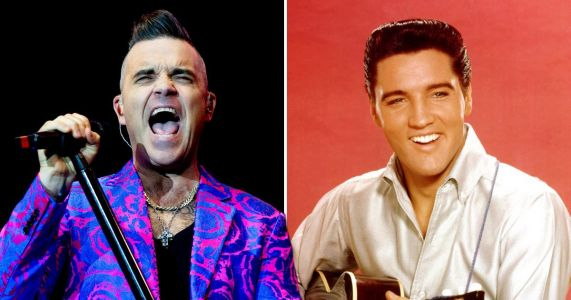 Robbie Williams equals Elvis Presley record as Christmas album hits number one