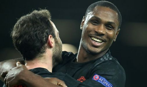 Man Utd loanee Odion Ighalo offered £400k-a-week deal by Shanghai Shenhua
