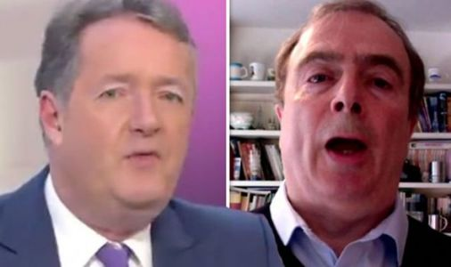'Stop talking Peter!' Piers Morgan loses it with guest talking 'nonsense' on coronavirus