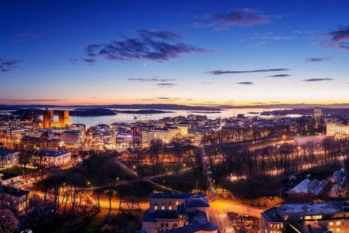 Enjoy breathtaking views while on meetings in Oslo!
