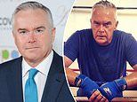 Huw Edwards reveals he battled depression after his father's death - but took up boxing to cope