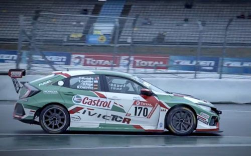 Green Hell and high water: Behind the scenes with Tiago Monteiro as he races the Nürburging 24 Hours