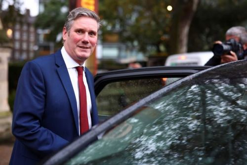 Keir Starmer speaks to police after car accident leaves cyclist injured