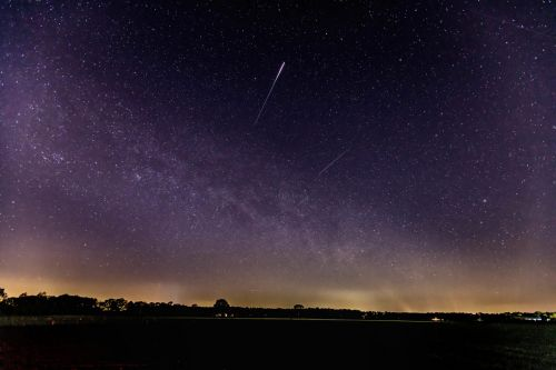 The Lyrid meteor shower will leave 'glowing dust trains' across the sky on Thursday. Here's how to watch