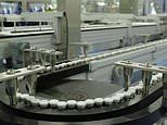 The video the world has longed to see. Covid vaccines rolling off the production line