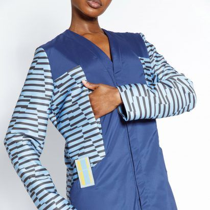 Adaptive clothing with graphic prints designed to ease Parkinson's disease