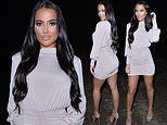 TOWIE's Yazmin Oukhellou makes a surprise appearance at Givenchy's PFW cocktail party