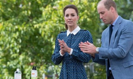 Prince William and Kate Middleton host NHS heroes tea party