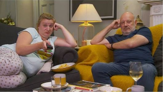 Celebrity Gogglebox: The relationship of Daisy May Cooper and her dad Paul - and how she roasts him on social media