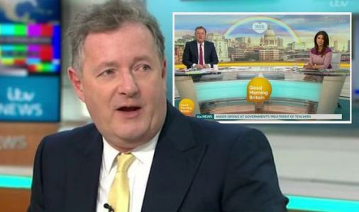 Where is Piers Morgan today and why isn't he on GMB?
