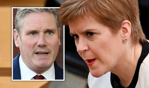 Starmer's thrown in the towel! Fury as Labour gives in to SNP demands for indy vote