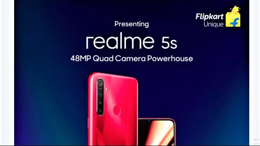 Realme 5s launched in India with 48MP quad-cameras starting at Rs 9,999