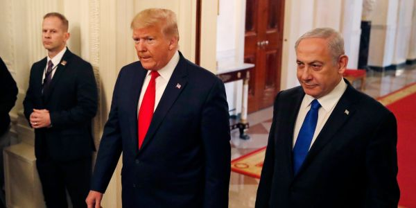 Trump announces 'historic' deal between Israel and the UAE, including a suspension of West Bank annexation plans